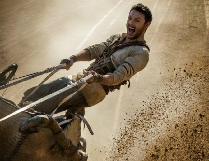 """2016 spielt er im Remake """"Ben Hur"""" die Titelrolle © Paramount"""