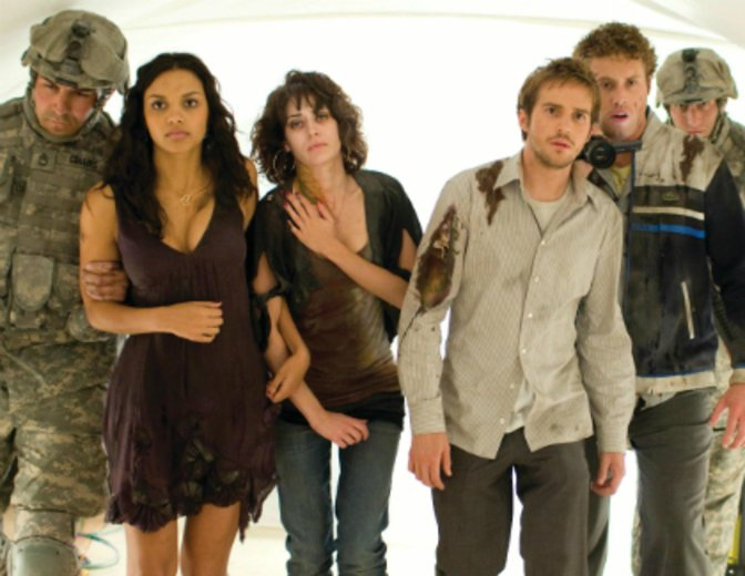 """Sein Filmdebüt legt TJ Miller in """"Cloverfield"""" (2008) ab© Universal"""