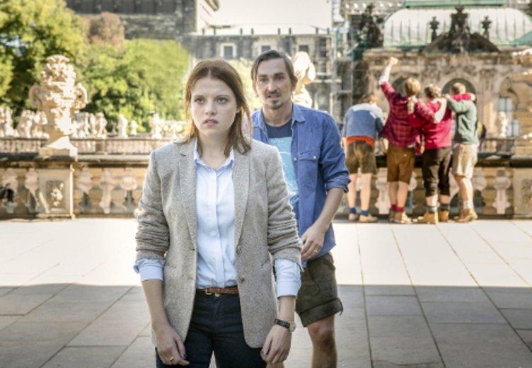 """Jella Hasse in """"Tatort: Auf einen Schlag"""" © MDR/Andreas Wünschirs"""