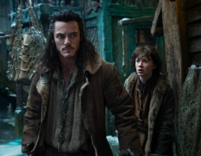 "Luke Evans als Bard in der ""Hobbit""-Filmreihe © Warner Bros."