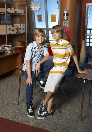 Zack & Cody an Bord Poster