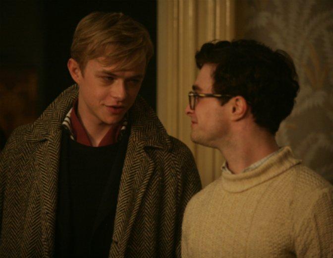 """Daniel Radcliffe und Dane DeHaan mimen Lucien Carr und Allen Ginsberg in """"Kill Your Darlings"""" (2013) © Koch Media"""