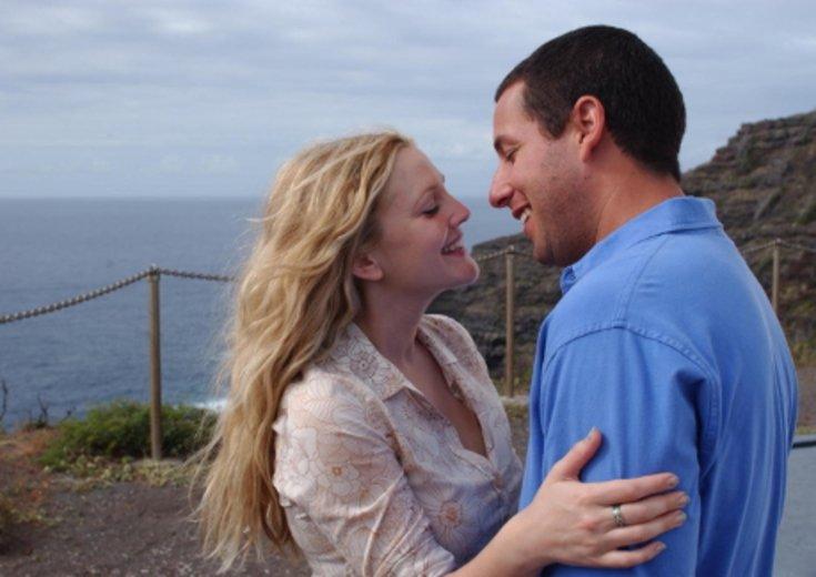 """Drew Barrymore und Adam Sandler in """"50 erste Dates"""" © Columbia TriStar"""