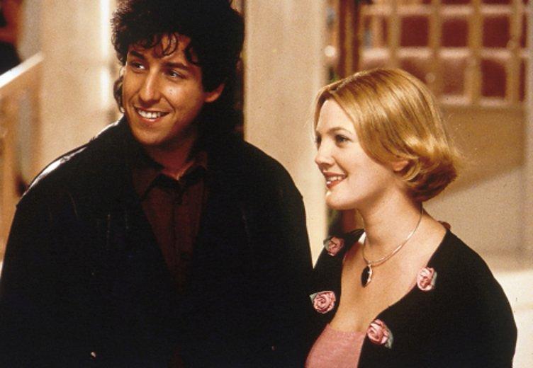 """Dreamteam Drew Barrymore und Adam Sandler in """"Eine Hochzeit zum Verlieben"""" (1998) © Kinowelt"""
