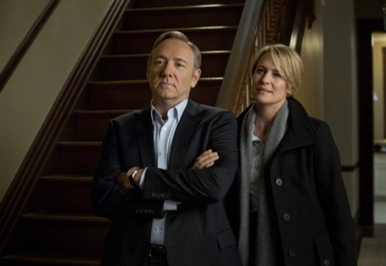 """Robin Wright und Kevin Spacey in """"House of Cards"""" Staffel 1 (2013) © Netflix"""