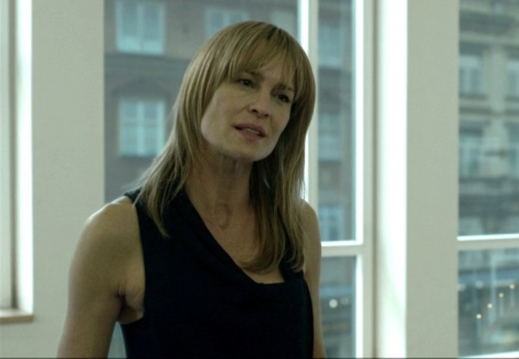 "Robin Wright in ""Verblendung"" (2011) © Sony Pictures"