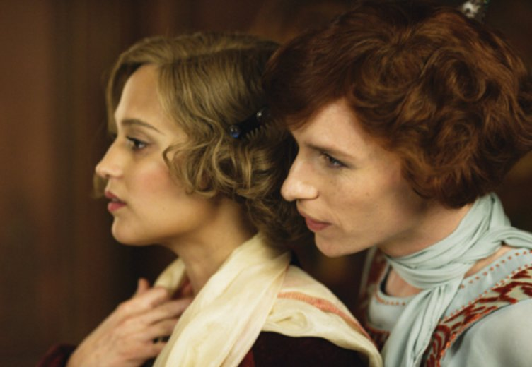 "Alicia Vikander und Eddie Redmayne in ""The Danish Girl"" © Universal"
