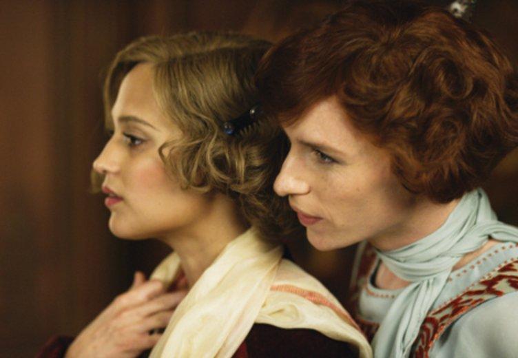 "Alicia Vikander und Eddie Redmayne in ""The Danish Girl"" © Universal"