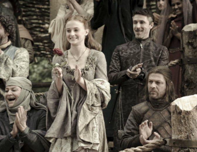 """Als Sansa Stark durchlebt sie alle Tragödien in """"Game of Thrones"""" bereits seit Anbeginn. © Warner / HBO"""