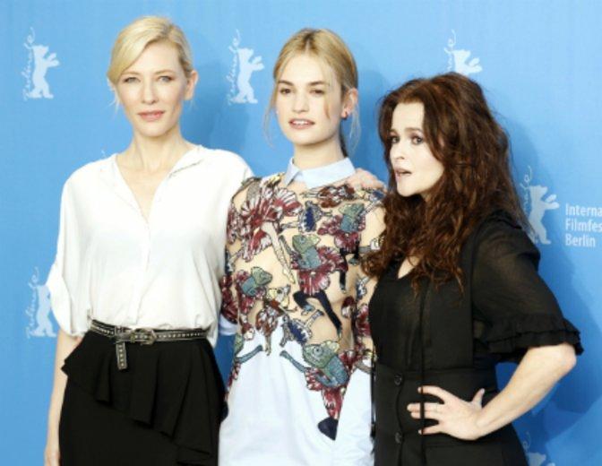Lily James behauptete sich bereits gegen Größen wie Cate Blanchett und Helena Bonham Carter. Hier auf der Berlinale 2015 © Kurt Krieger