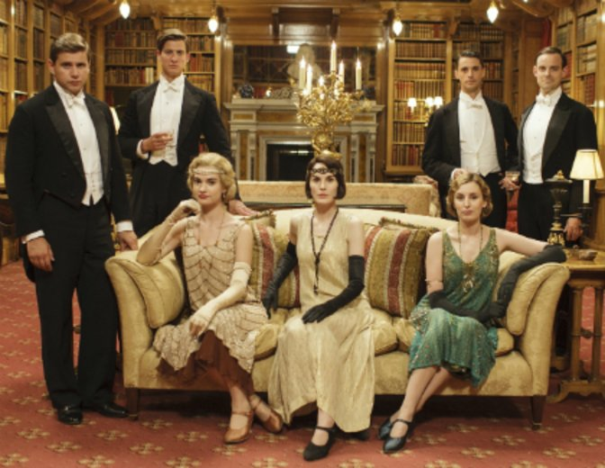 "Als Lady Rose im Ensemble von ""Downton Abbey"" © Carnival Films / PBS"
