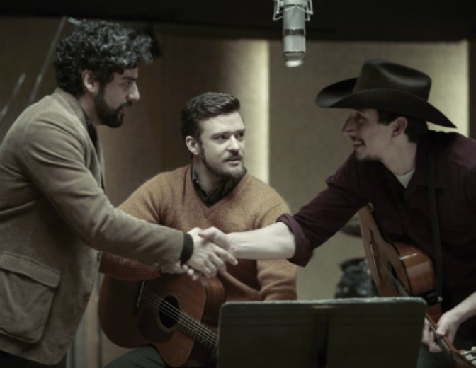 """Jammt mit Oscar Isaac und Justin Timberlake in """"Inside Llewyn Davis"""" © Studiocanal"""