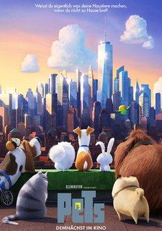 Film-Poster für The Secret Life of Pets (3D)