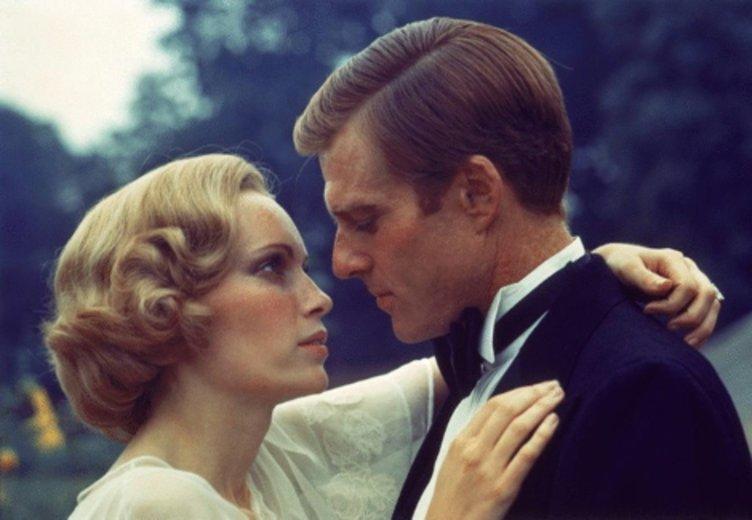 """Mia Farrow und Robert Redford in """"Der Große Gatsby"""" 1974 © Paramount"""