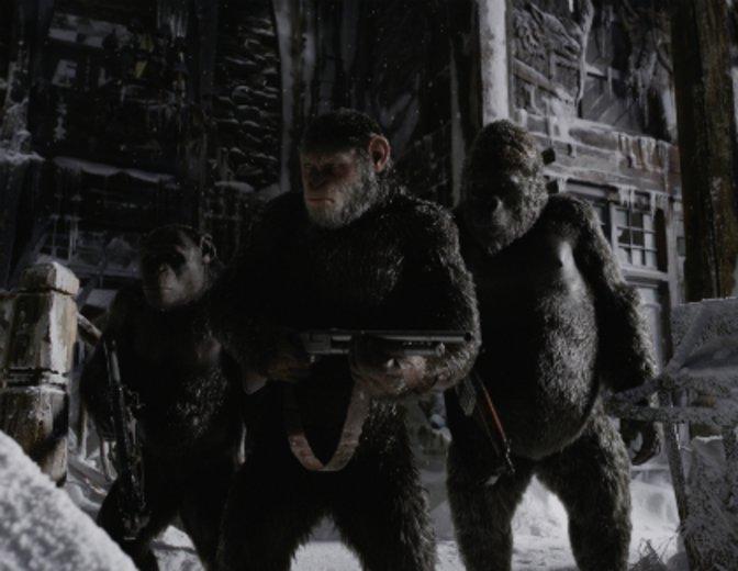 """""""Planet der Affen: Survival"""" mit Andy Serkis und Woody Harrelson"""