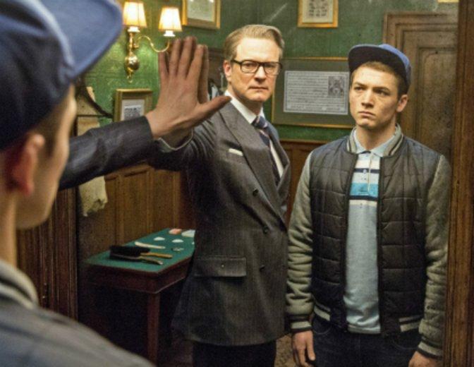 """Wird von seinem Mentor Colin Firth zur Agentenschule der """"Kingsman: The Secret Service"""" geschickt © 20th Century Fox"""