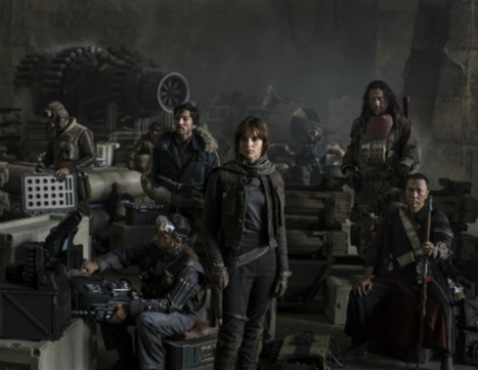 Rogue One Cast-Foto