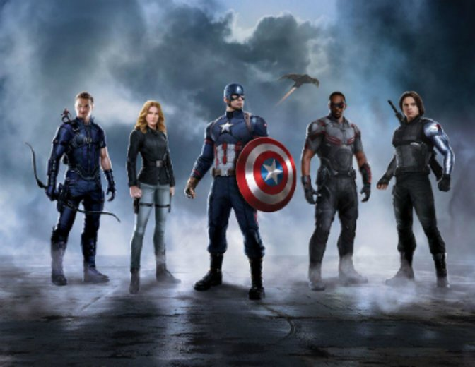 Captain America Civil War Team America