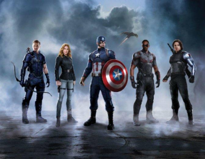 Captain America Civil War Team America