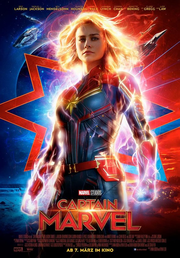 Captain Marvel Film 2019 Trailer Kritik Kinode