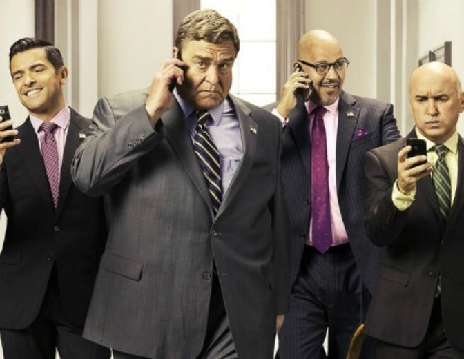 "Als Republiker auf Amazon: ""Alpha House"" © Amazon Studios"