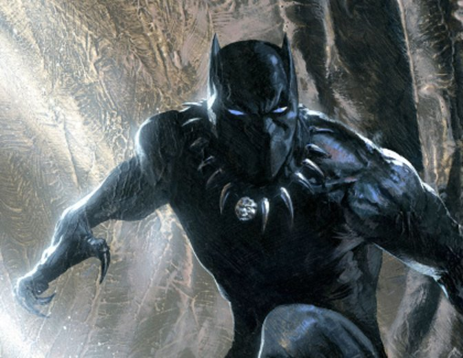 Black Panther im Comic © Marvel