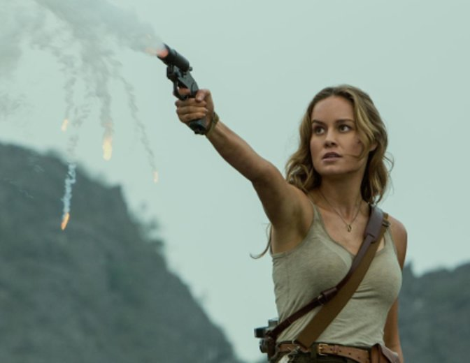 "Hauptdarstellerin Brie Larson im Fantasy-Spektakel ""Kong Island"" © Warner"