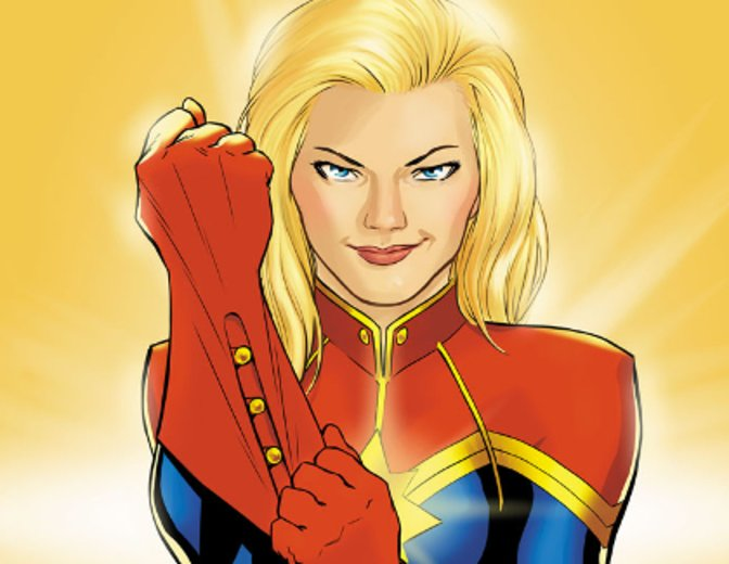 Captain Marvel in den Comics © Marvel