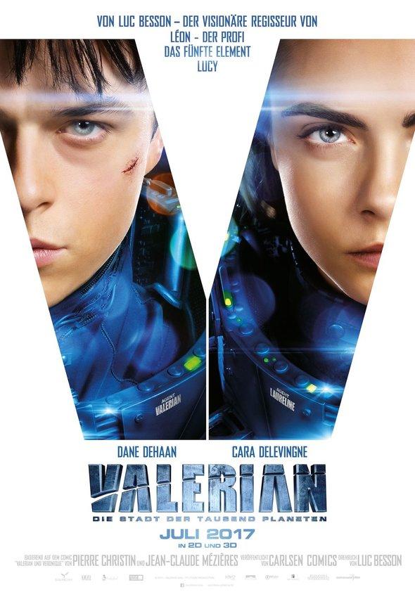 Valérian - Die Stadt der tausend Planeten Poster