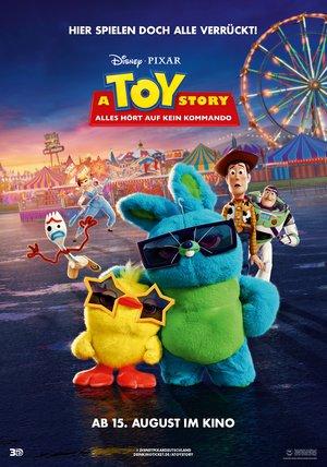 Plakat: TOY-STORY 4