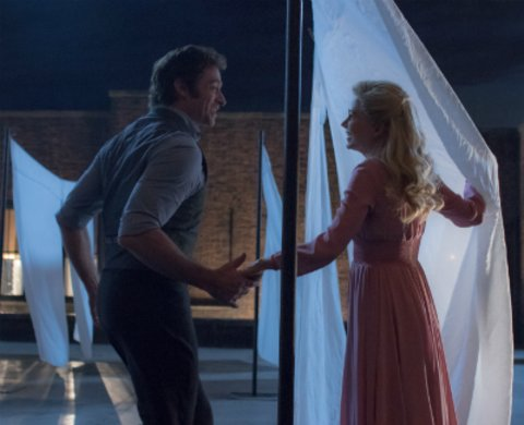 "Hugh Jackman und Michelle Williams in ""The Greatest Showman"" © Twentieth Century Fox"