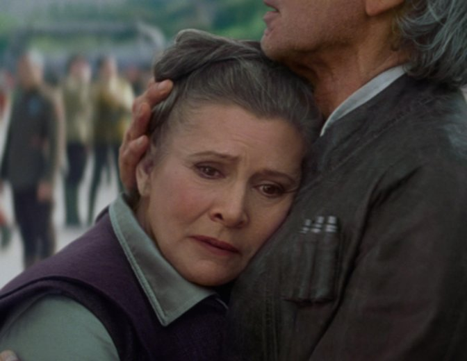 Carrie Fisher lebt in den Herzen der Fans weiter. © Disney