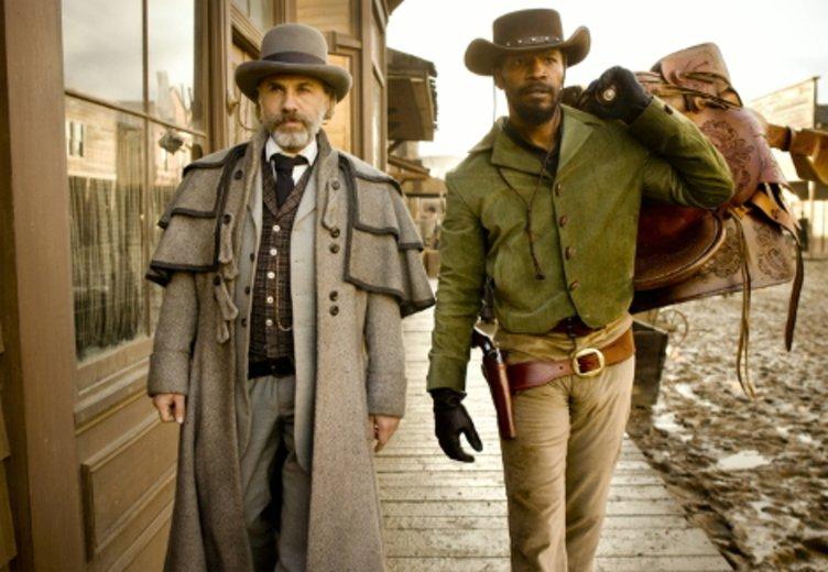 """Christoph Waltz und Jamie Foxx in """"Django Unchained"""" © Sony Pictures"""