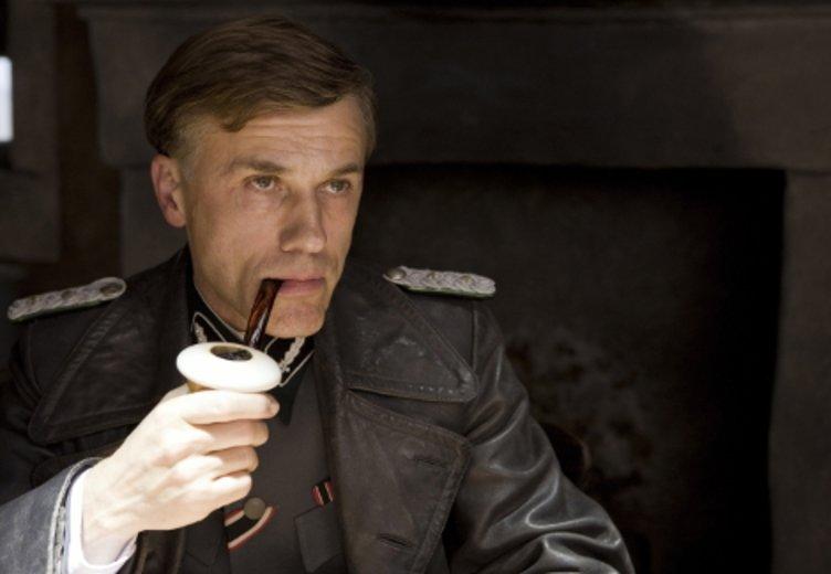 "Christoph Waltz als SS-Offizier Hans Landa in ""Inglorious Basterds"" © Universal"