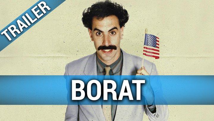 Borat - Trailer Poster