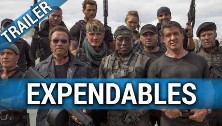 Expendables - Trailer Poster