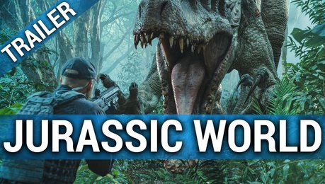 Jurassic World - Trailer Poster