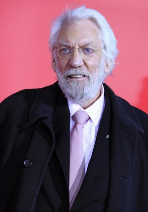 Donald Sutherland Poster