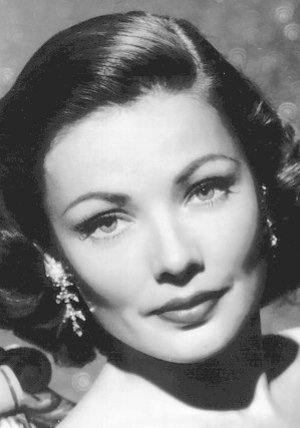 Gene Tierney Poster