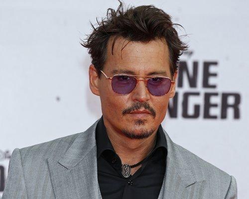Johnny Depp (*1963) · Portrait ·