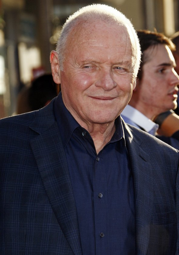 Sir Anthony Hopkins Poster