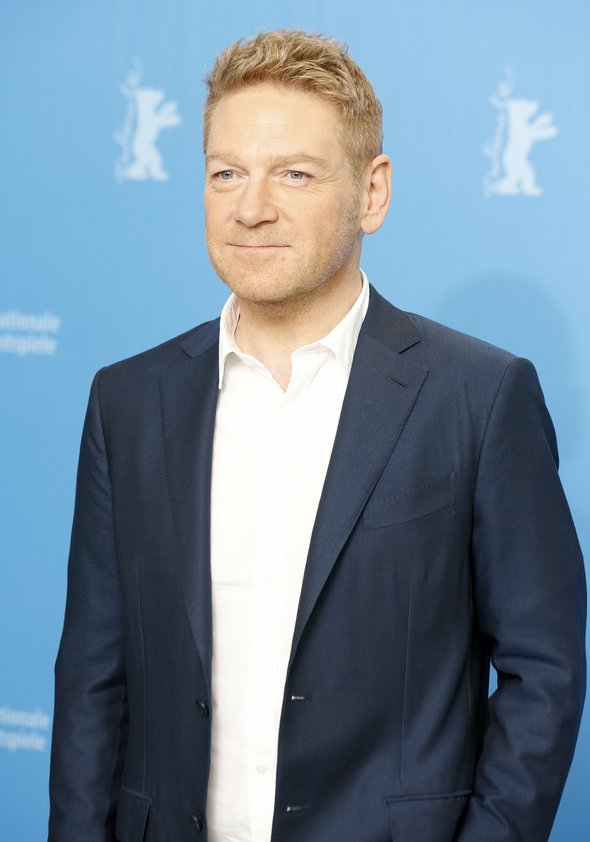 Sir Kenneth Branagh Poster