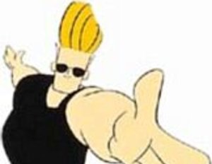 "The Rock als Comic-Held ""Johnny Bravo"""