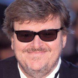 Michael Moore vor der Kamera