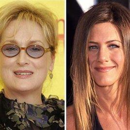 Streep und Aniston brechen aus