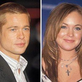 Brad Pitt kennt Lindsay Lohan nicht