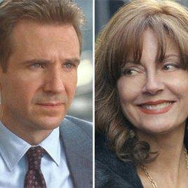 Ralph Fiennes bedient Susan Sarandon