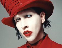 "Manson in ""Rocky Horror Picture Show"""