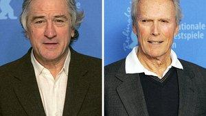 De Niro und Eastwood in Siegerpose