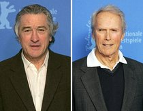 De Niro und Eastwood in Siegerpose